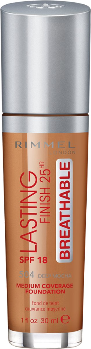 Rimmel London Lasting Finish Breathable - Deep Mocha - Foundation