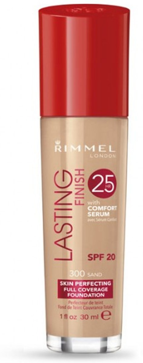 Rimmel London Lasting Finish Foundation Sand - Beige