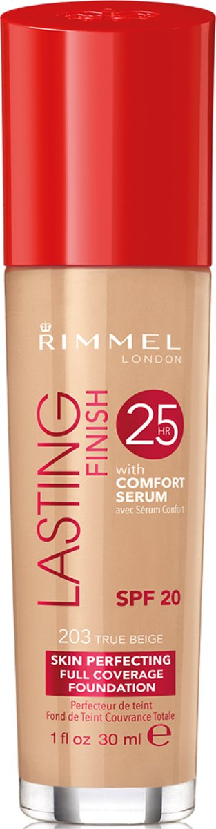 Rimmel London Lasting Finish Foundation True Beige - Beige