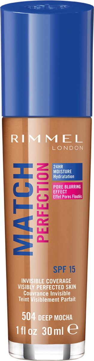 Rimmel London Match Perfection - Deep Mocha - Foundation
