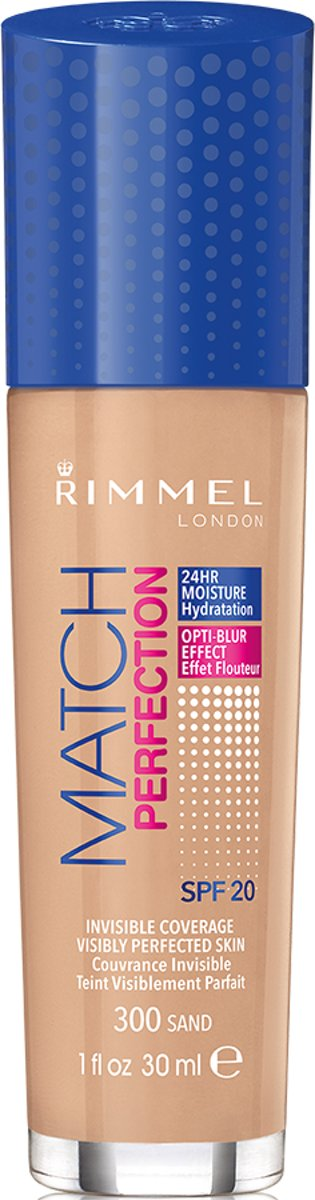 Rimmel London Match Perfection Foundation - 300 Sand