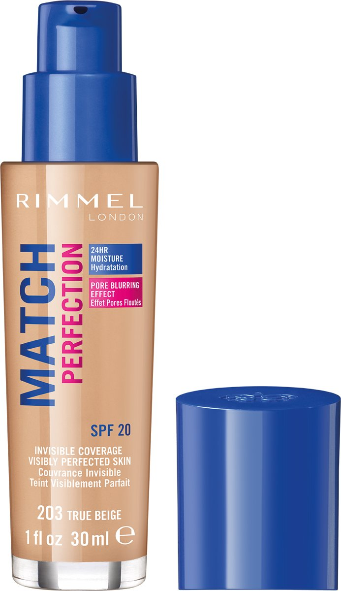 Rimmel London Match Perfection Foundation True Beige Beige