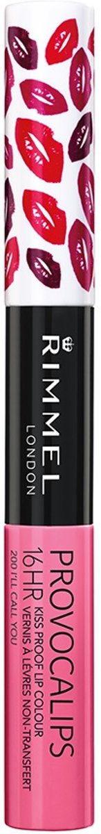 Rimmel London Provocalips Lip Color Lipgloss - Ill Call You
