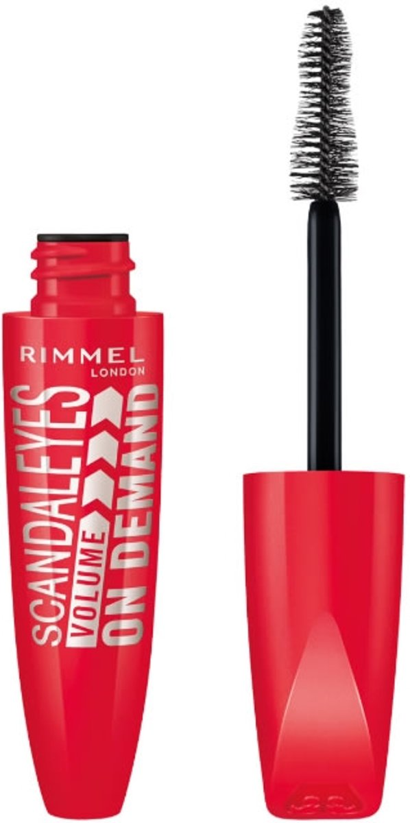 Rimmel London Scandal'Eyes Volume On Demand Black 001 Mascara