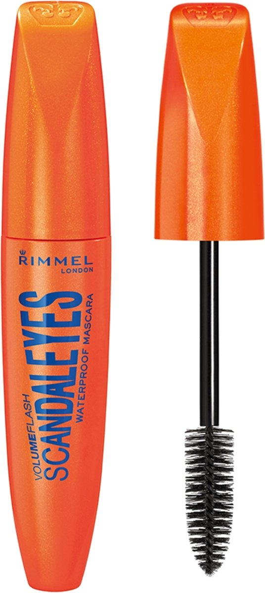 Rimmel London ScandalEyes Waterproof - 001 Waterproof Black - Mascara