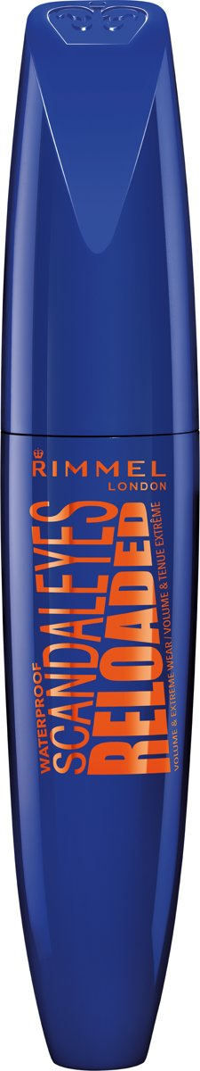 Rimmel London Scandaleyes Reloaded Mascara - Zwart - Waterproof