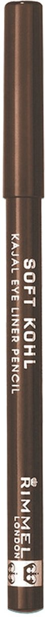 Rimmel London Soft Kohl Kajal Eyeliner - 011 Sable Brown