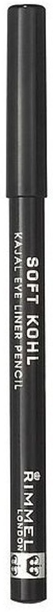 Rimmel London Soft Kohl Kajal Eyeliner - 061 Jet Black