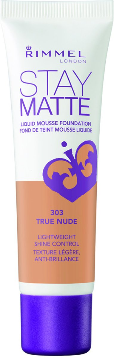 Rimmel London Stay Matte Liquid Foundation True Nude Beige