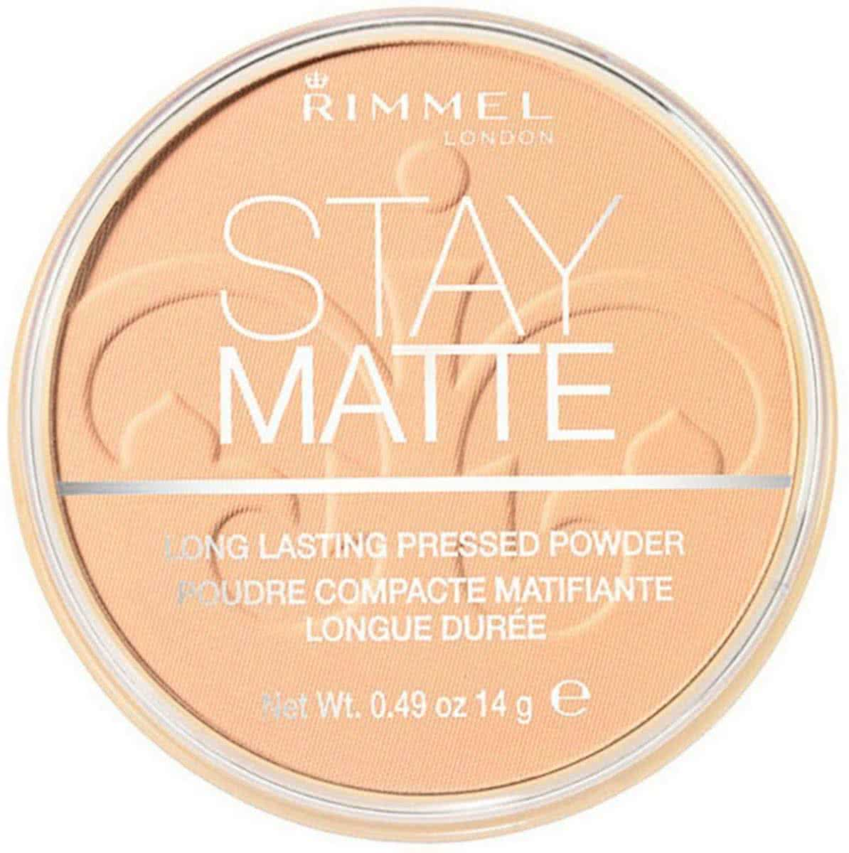 Rimmel London Stay Matte Pressed Poeder - 006 Warm Beige