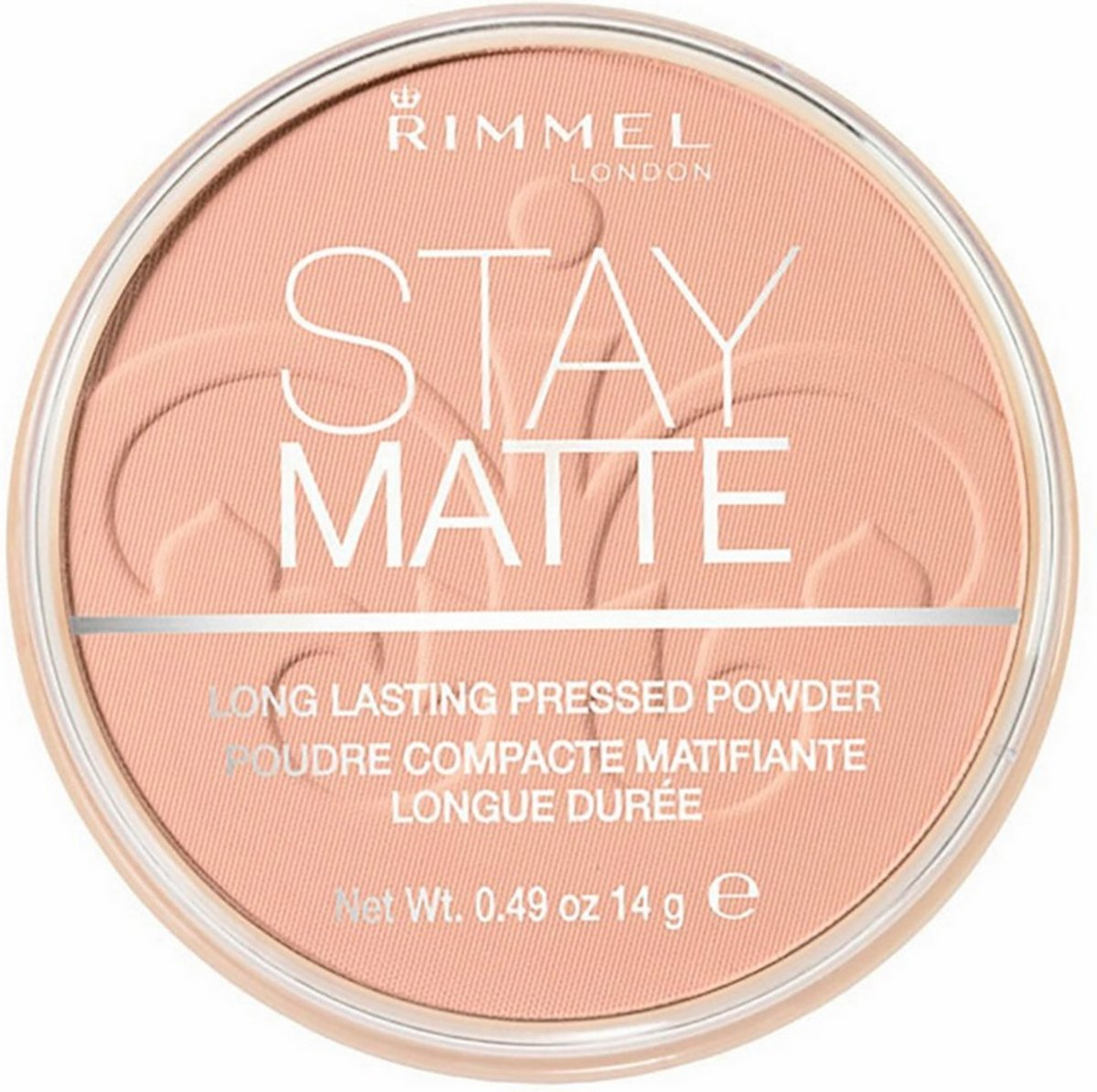 Rimmel London Stay Matte Pressed Poeder - 008 Cashmere