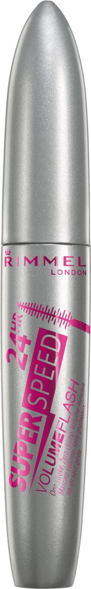 Rimmel London Volume Flash Highspeed - Zwart - Mascara