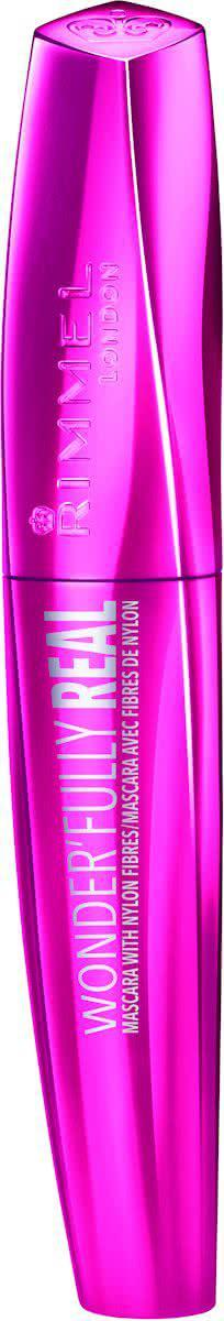 Rimmel London Wonderfully Real Mascara - Zwart