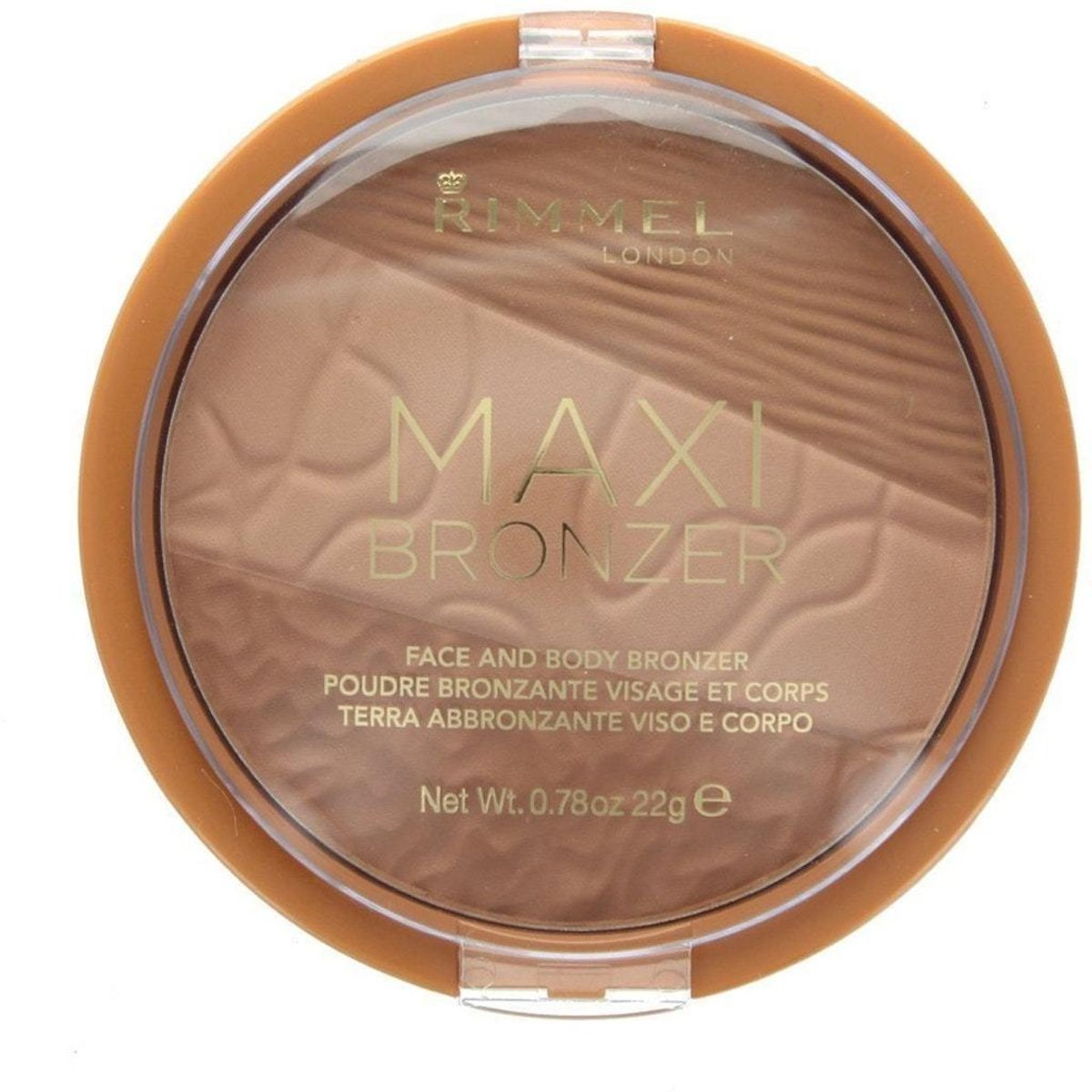 Rimmel Maxi Bronzer Face and Body Bronzing Powder