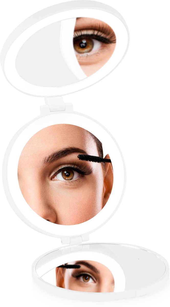 Rio mmci compacte vergrotende make up spiegel for Vergrotende spiegel