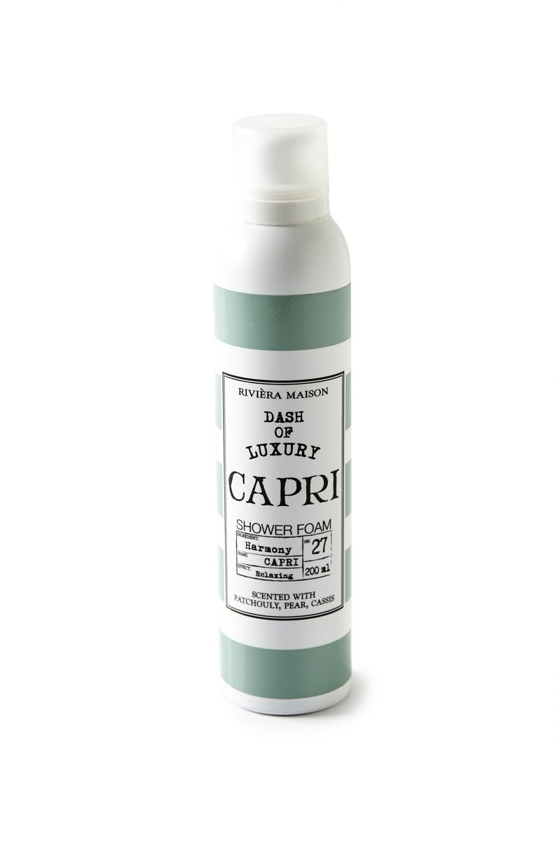 Capri Luxury Shower Foam 200ml