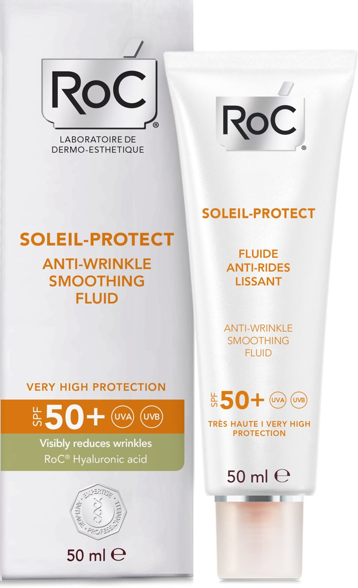 RoC SOLEIL PROTECT Anti-aging face fluid SPF50+ - 50 ml
