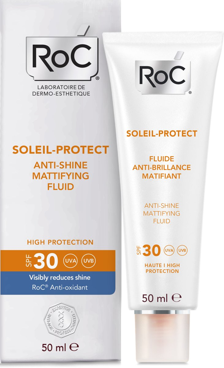 RoC SOLEIL PROTECT Anti-shine face fluid SPF30- 50 ml