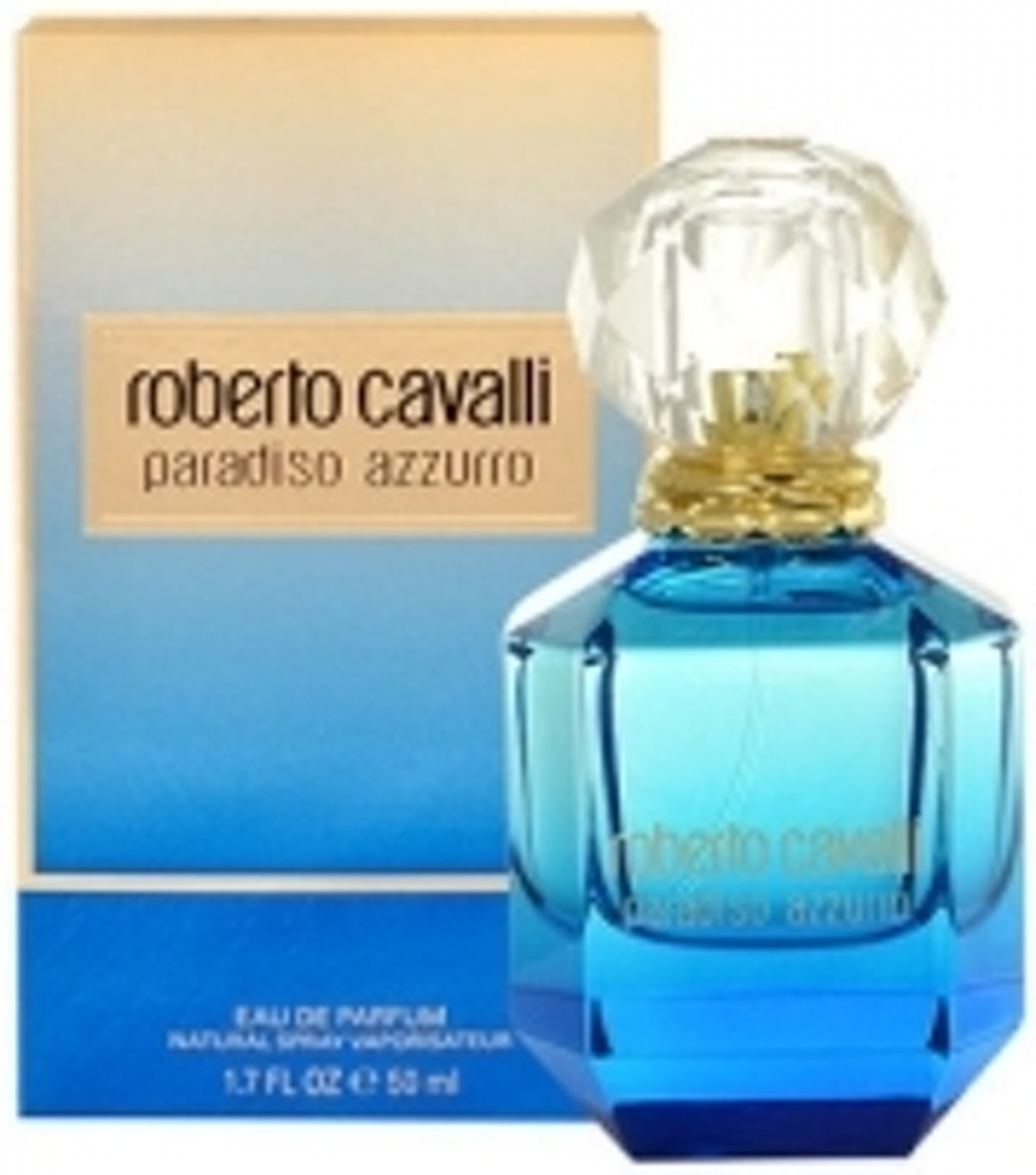 Cavalli paradiso azzurro edp 50 ml spray
