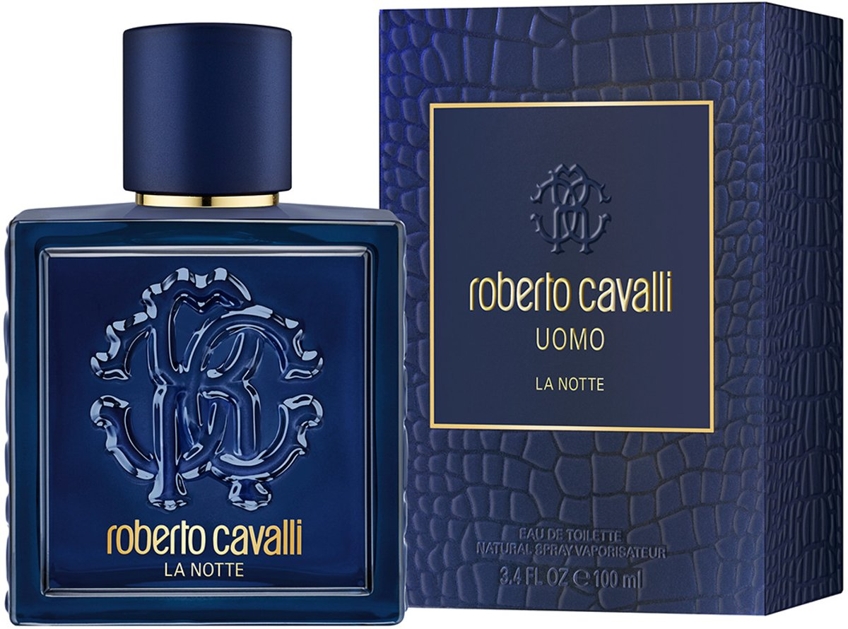 Roberto Cavalli Uomo La Notte Edt Spray 100ml
