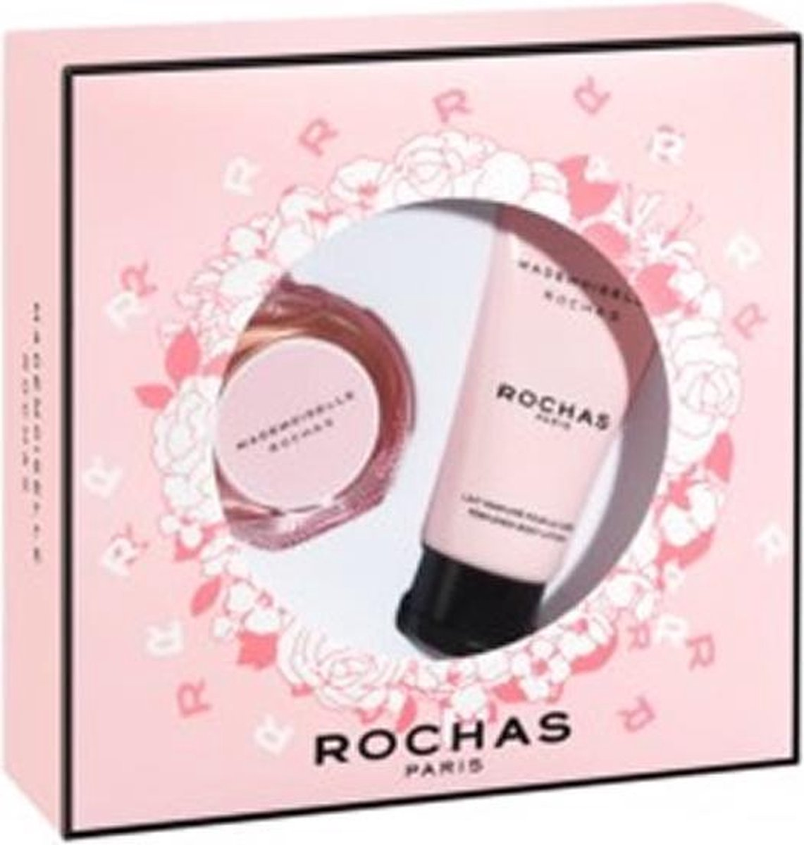Sachajuan Rochas Mademoiselle Eau De Perfume Spray 30ml + Body Lotion 50ml