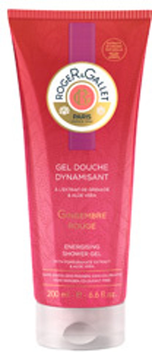 Roger & Gallet GINGEMBRE ROUGE gel douche dynamisant 200 ml