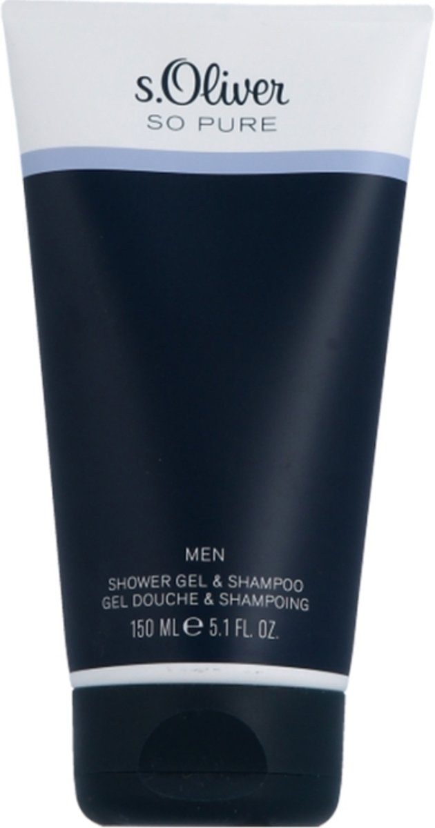 s. Oliver  So Pure Men Showergel & Shampoo Douchegel 150 ml