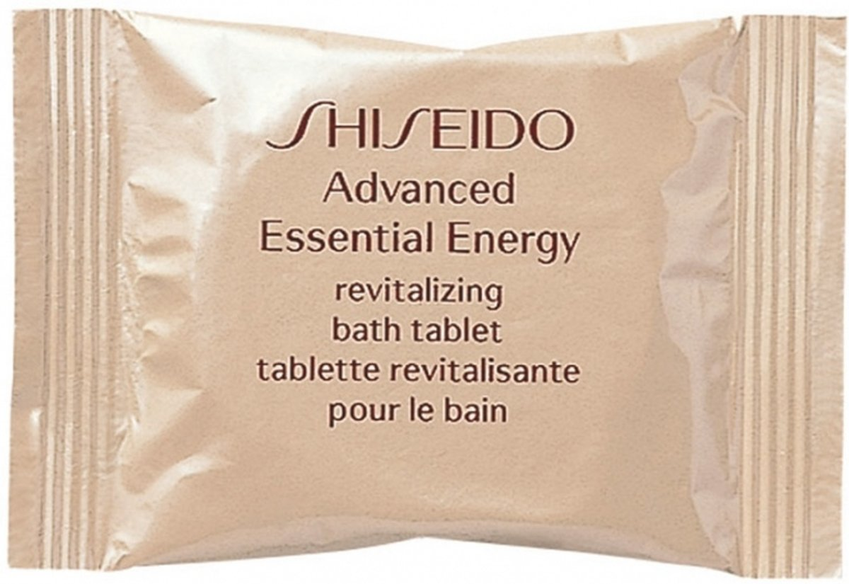 Shiseido Advanced Essential Energy Bath Tablet 250 gr