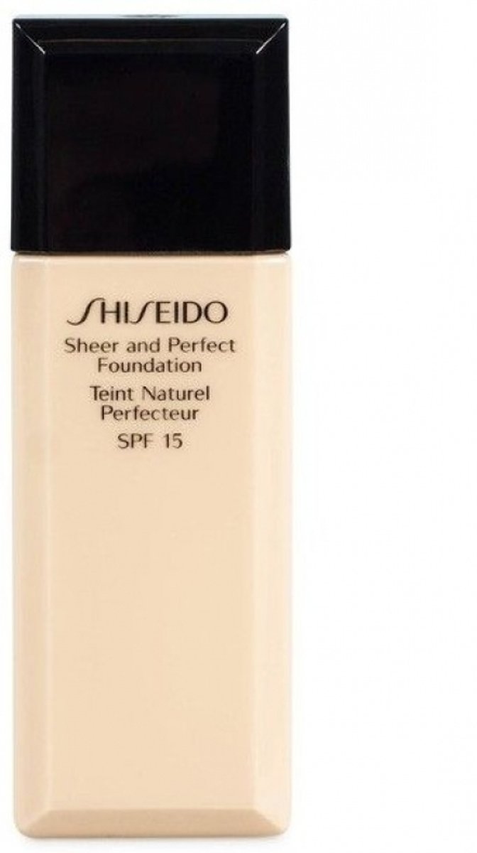 Shiseido Sheer and Perfect Foundation 30 ml - l40