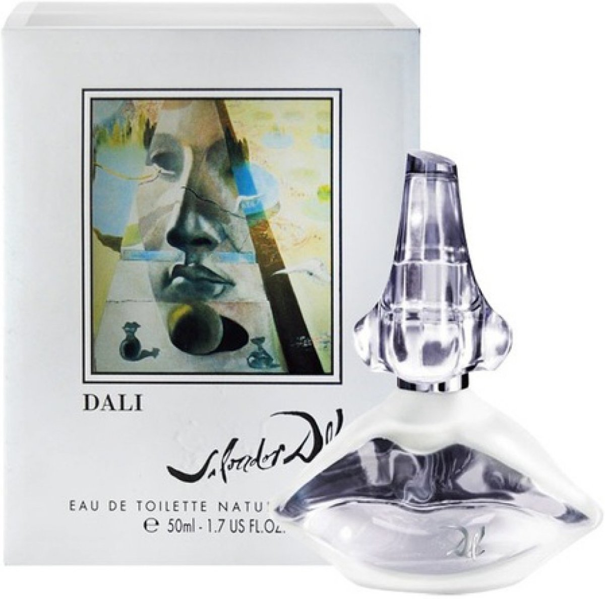 MULTI BUNDEL 2 stuks Salvador Dali Classic Eau De Toilette Spray 50ml