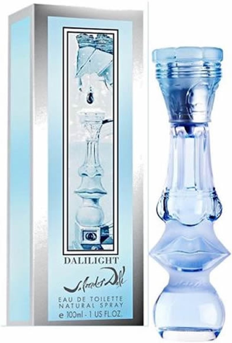 MULTI BUNDEL 2 stuks Salvador Dali Dalilight Eau De Toilette Spray 100ml