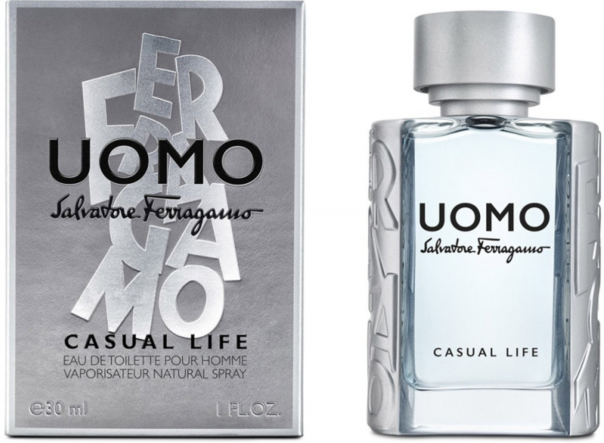 S.FERRAGAMO UOMO CASUAL LIFE MEN EDT Spr 30,0 ml