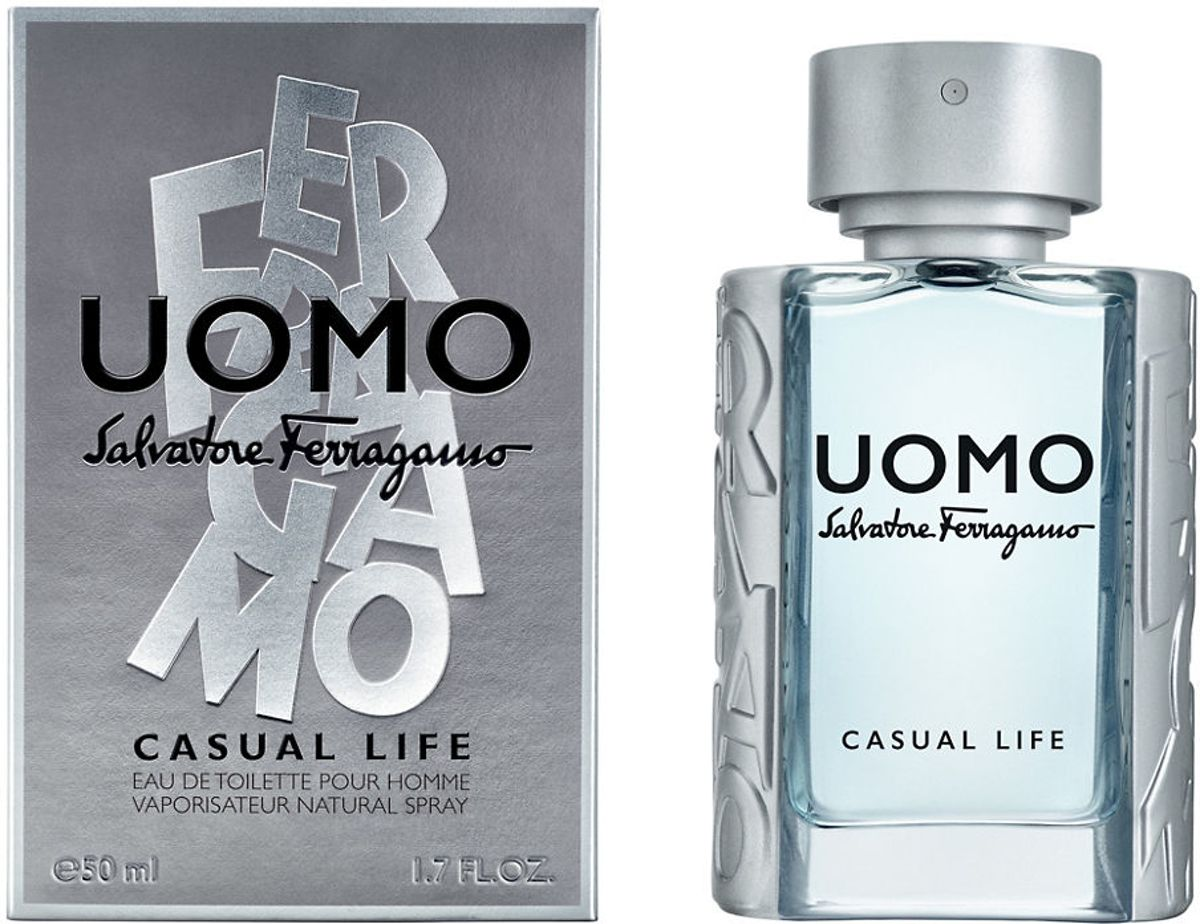 S.FERRAGAMO UOMO CASUAL LIFE MEN EDT Spr 50,0 ml