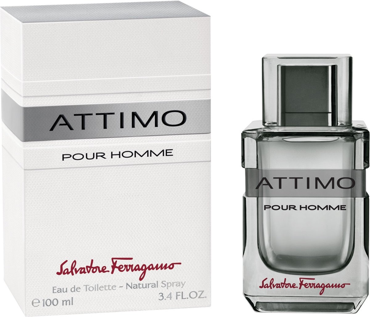 Salvatore Ferragamo Attimo 100 ml Mannen 100ml eau de toilette