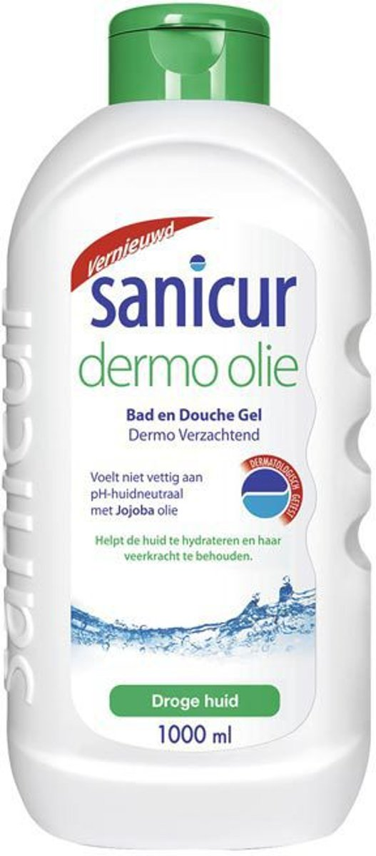Sanicure Dermo Olie - 1000 ml - Bad- & Douchegel