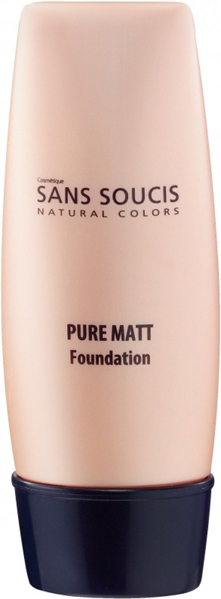 Sans Soucis Pure Matt Foundation Foundation 30 ml - 060 - Dark Beige