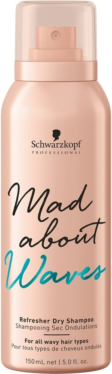Schwarzkopf Professional mad about waves refresher dry shampoo 150ml