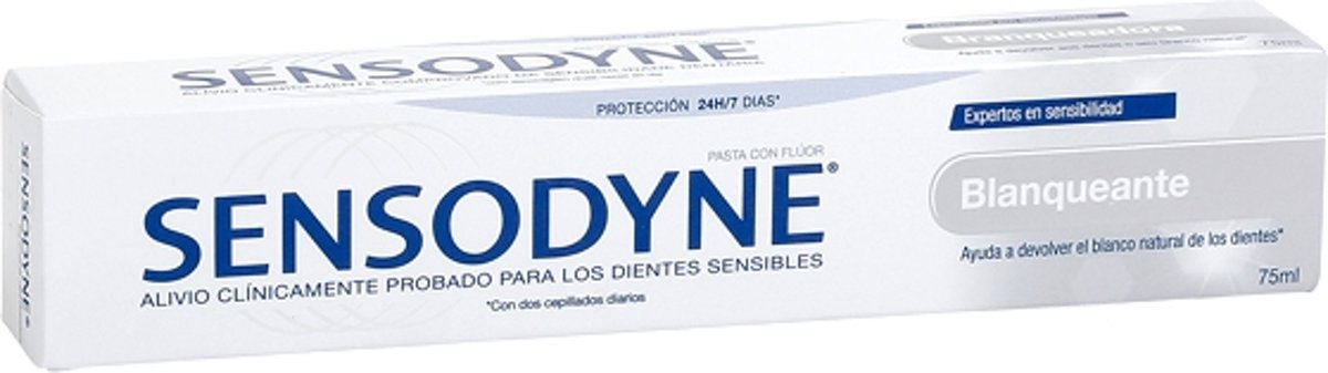 Tandpasta Whitening Sensodyne (75 ml)