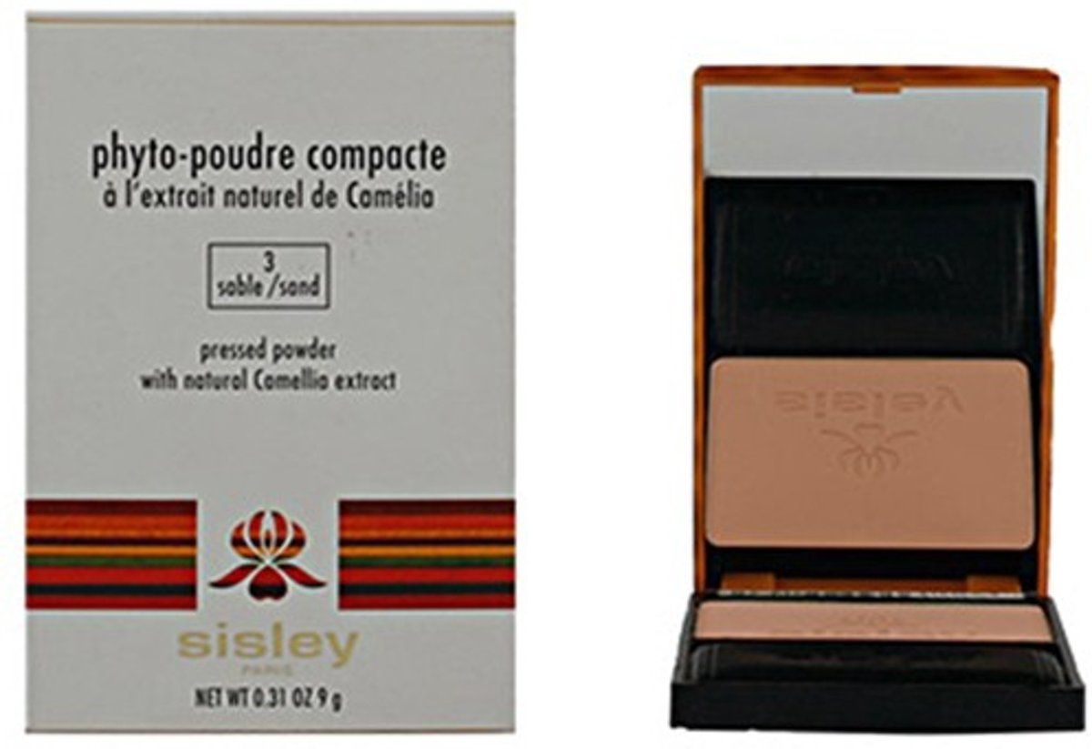 Sisley Phyto Compact Powder - 03 Sable - Make-uppoeder