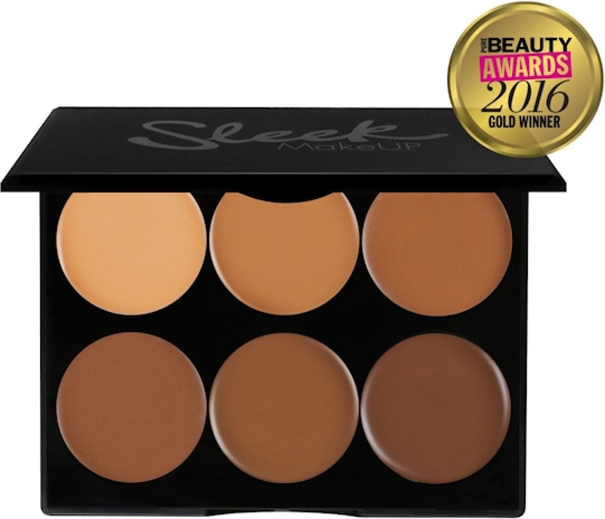 Sleek Cream Contour Kit Dark