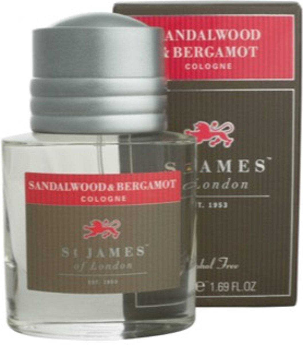 St James of London Cologne Sandalwood & Bergamot
