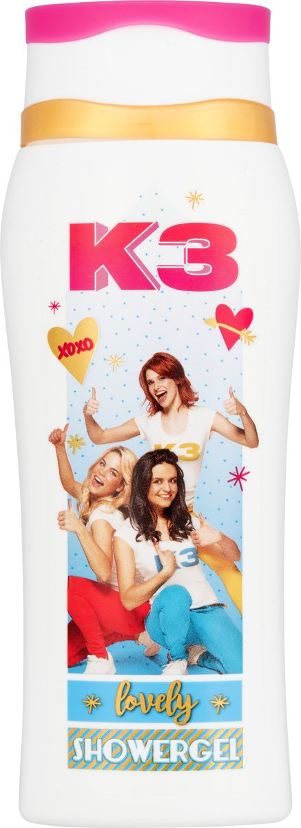 studio 100/k3Showergel K3: 250 ml