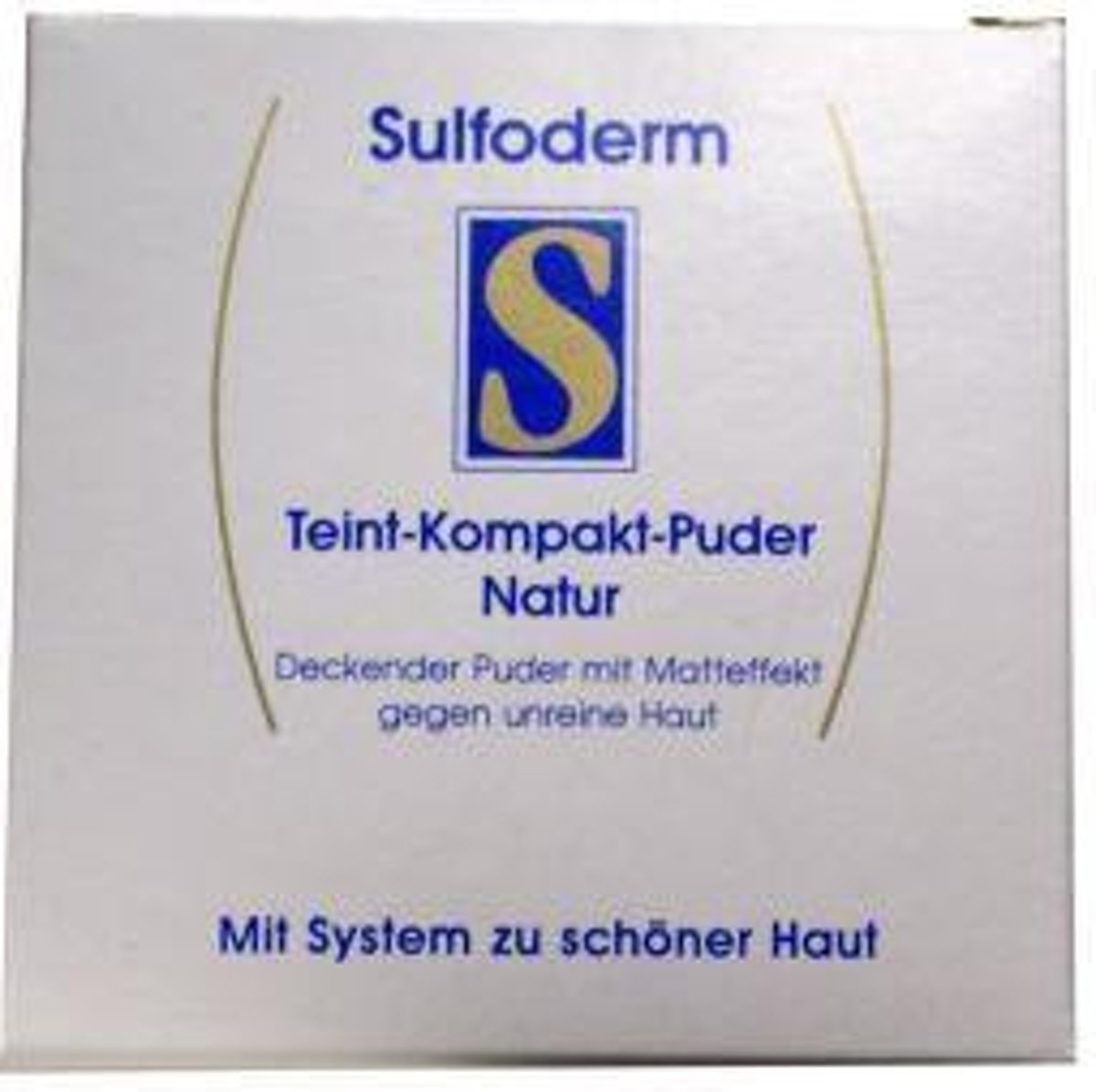 Sulfoderm S Teint Compact - Make-up Poeder