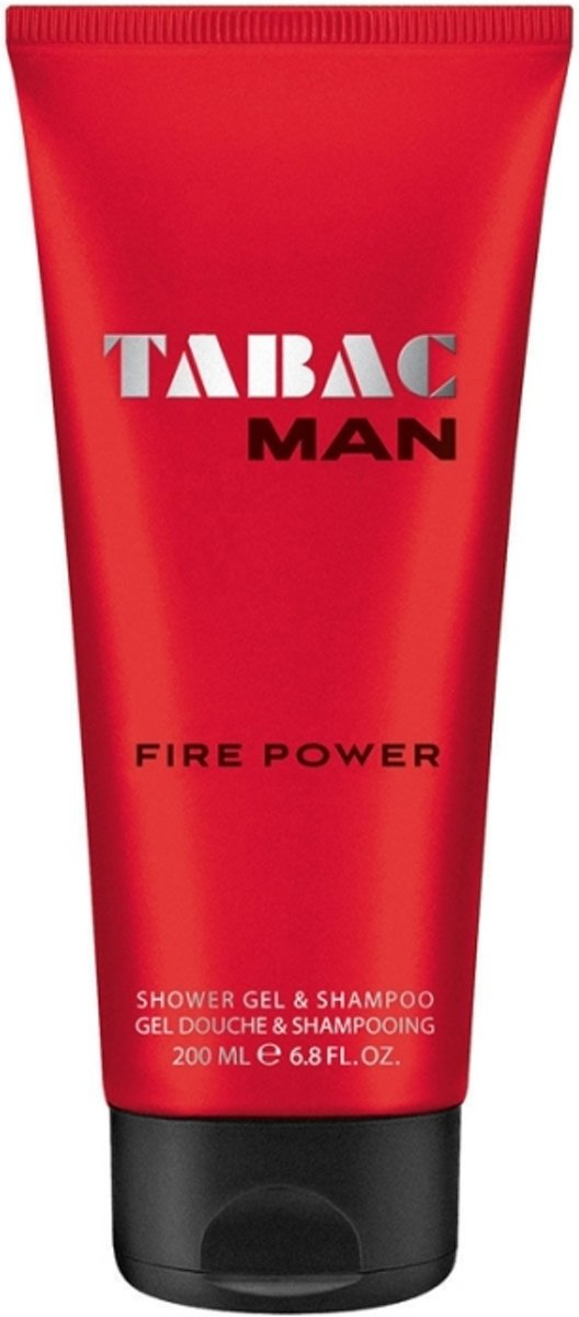 Tabac Man Fire Power  Douchegel 200 ml