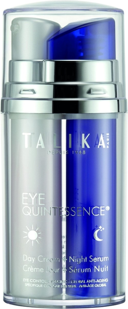 Talika - Eye Quintessence - 2 x 10 ml - Dagcrème + Nachtserum