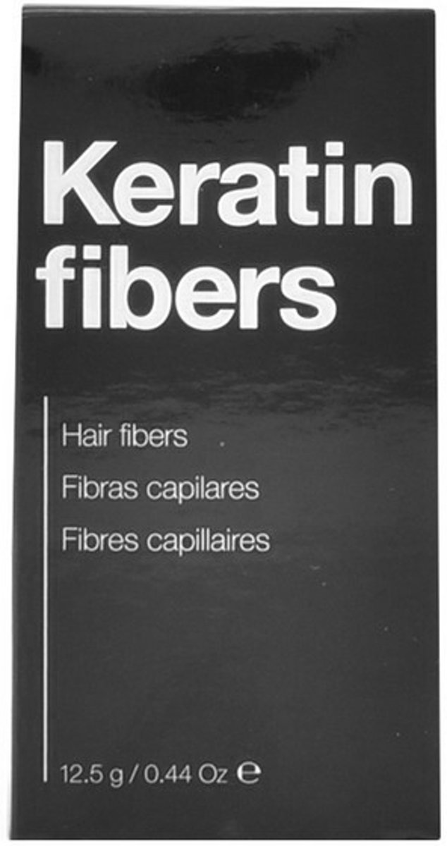 Anti-Haarverlies Kuur Keratin Fibers Light Blonde The Cosmetic Republic (12,5 g)