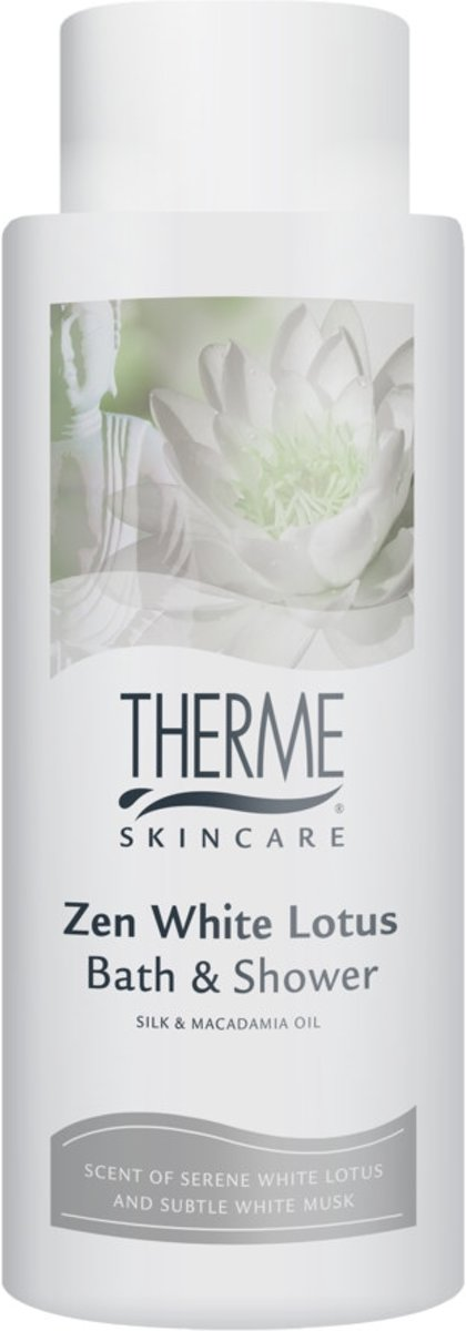 4x Therme Bath & Showergel Zen White Lotus 500 ml