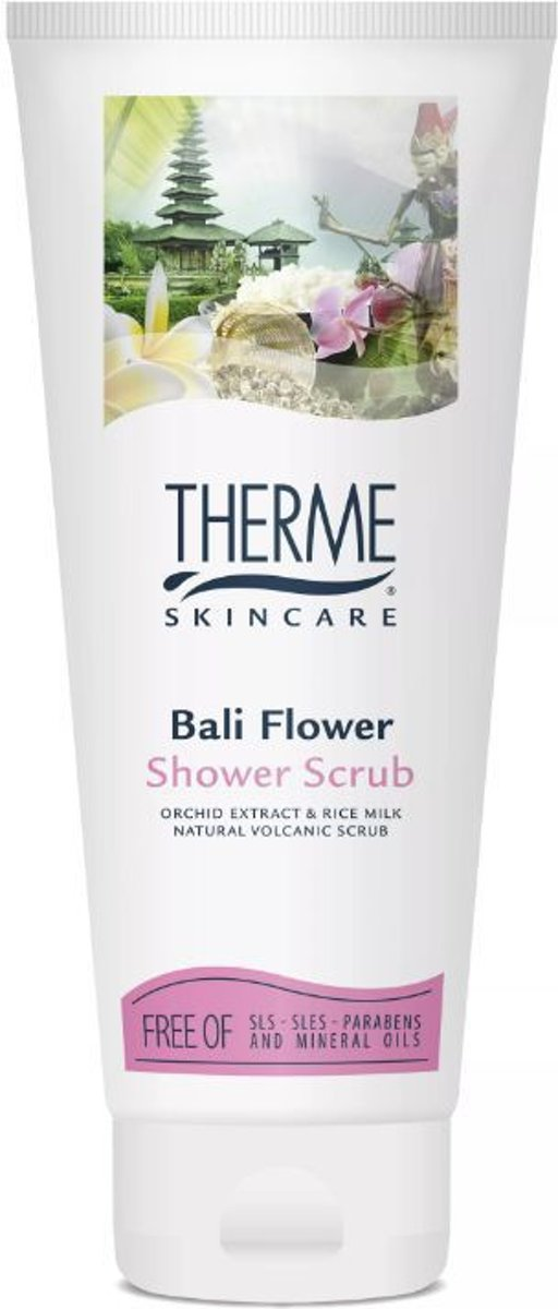 Therme Bali Flower - 200 ml - Shower Scrub