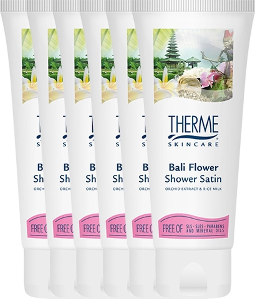 Therme Bali Flower Shower Satin Voordeelverpakking