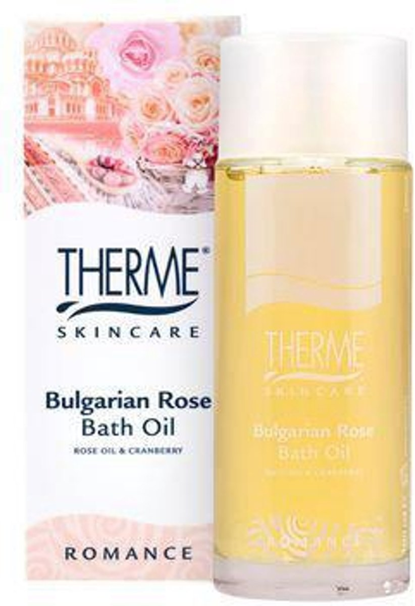 Therme Bulgarian Rose Badolie 100ml
